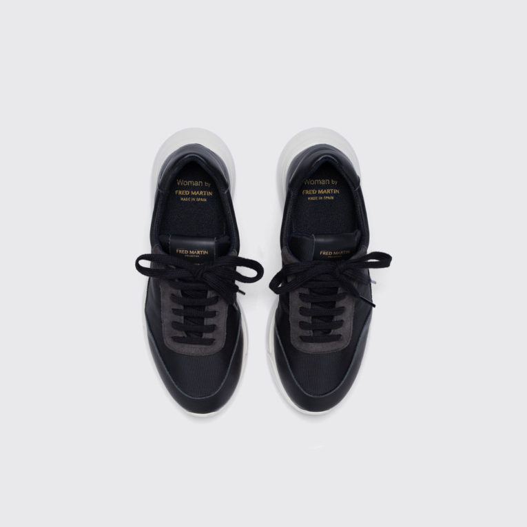 IDO_Black_Leather_sneaker_women_principal